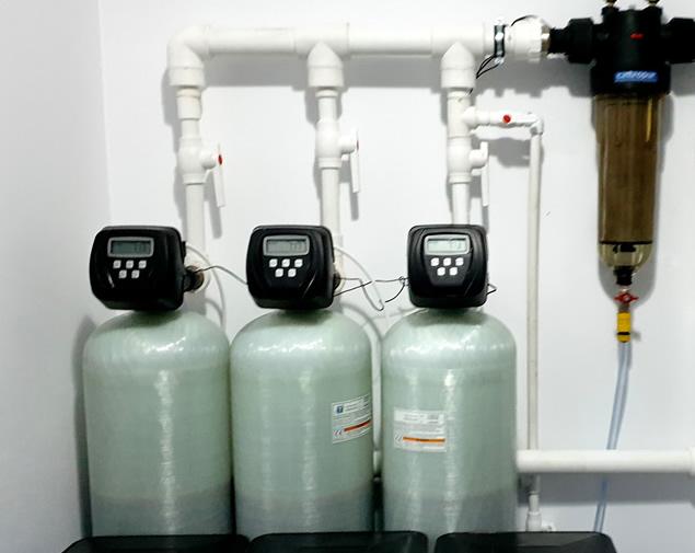 Sistem pentru dedurizarea apei